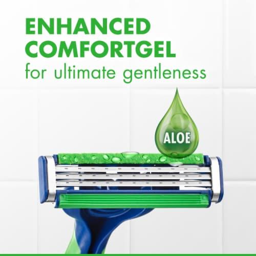 Gillette® Sensor3 Sensitive Disposable Razors Perspective: right
