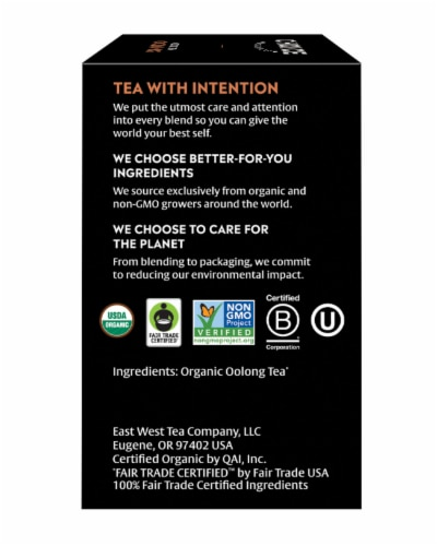 Choice Organic Oolong Tea Bags Perspective: right