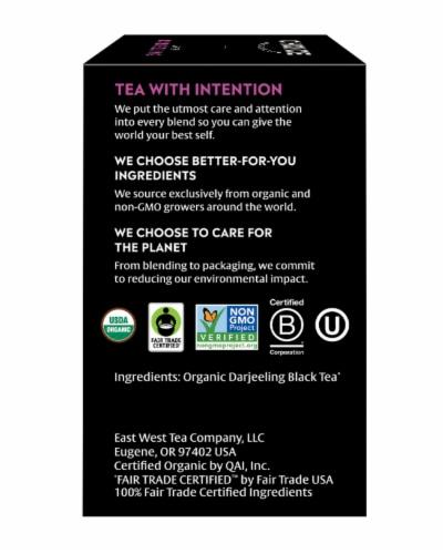 Choice Organic Darjeeling Black Tea Bags Perspective: right