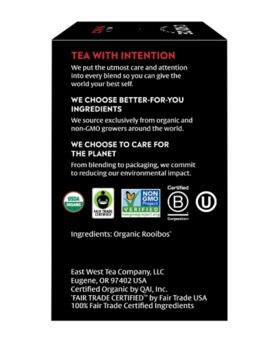 Choice Organics Rooibos Herbal Tea Bags Perspective: right