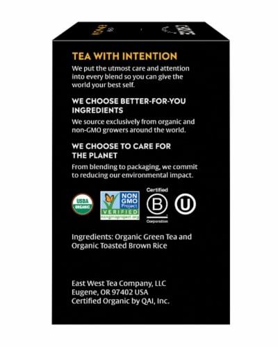 Choice Organics Genmaicha Green Tea Bags Perspective: right