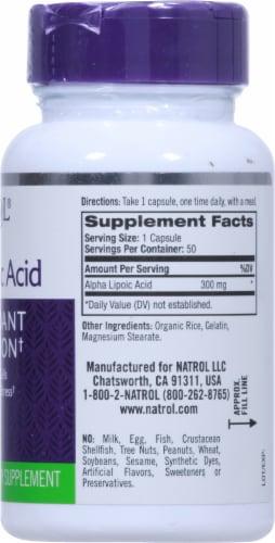 Natrol Alpha Lipoic Acid 300mg Antioxidant Protection Perspective: right