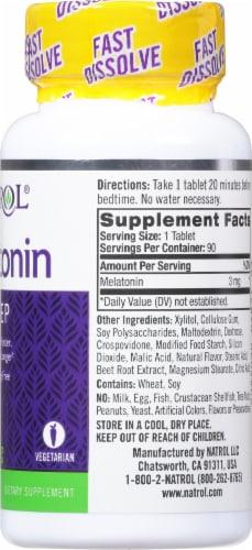 Natrol Melatonin 3mg Supplement Perspective: right