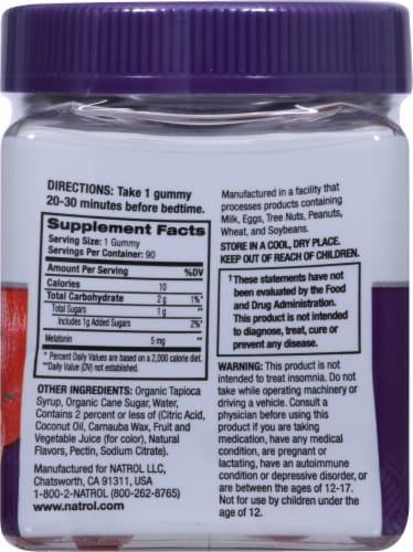 Natrol Melatonin Strawberry Gummies 5mg Perspective: right