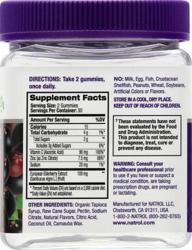 Natrol® Elderberry Immune Health Gummy Dietary Supplement Perspective: right