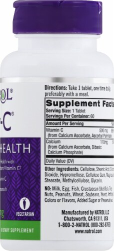 Natrol Easy-C Tablets 500mg Perspective: right