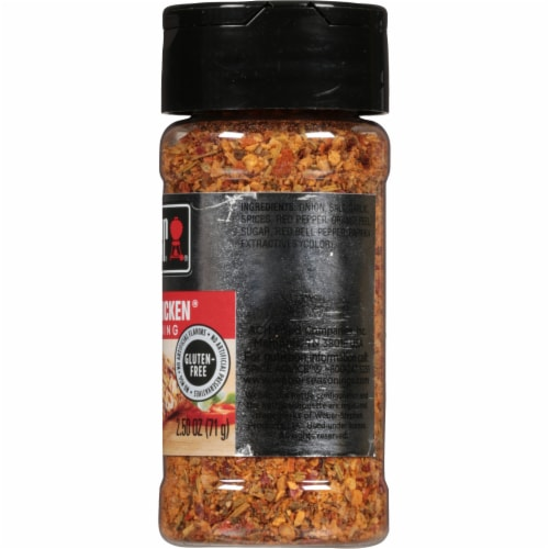 Weber Kick'n Chicken Seasoning Shaker Perspective: right