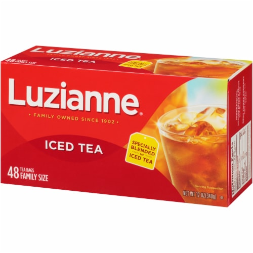Luzianne Iced Tea Bags Perspective: right