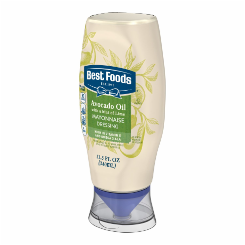 Best Foods Avocado Oil & Hint of Lime Mayonnaise Dressing Perspective: right