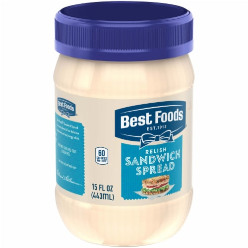 Best Foods® Relish Sandwich Spread Perspective: right
