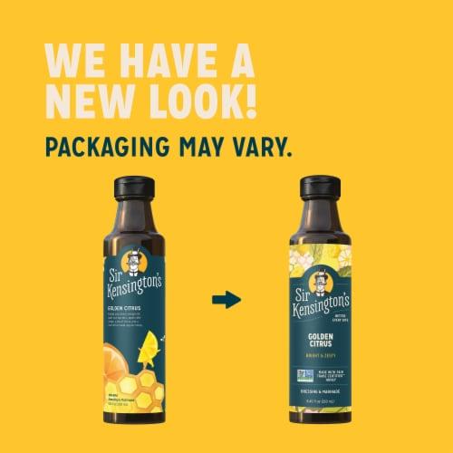 Sir Kensington's Keto & Paleo Golden Citrus Vinaigrette Gluten-Free Dressing & Marinade Perspective: right