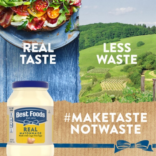 Best Foods Gluten-Free Real Mayonnaise Spread Perspective: right
