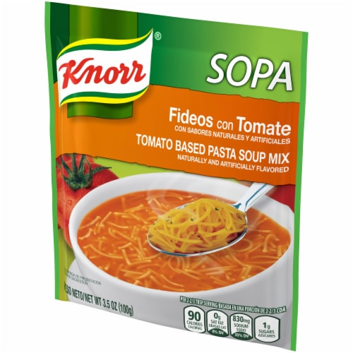 Knorr® Tomato Based Pasta Soup Mix Perspective: right