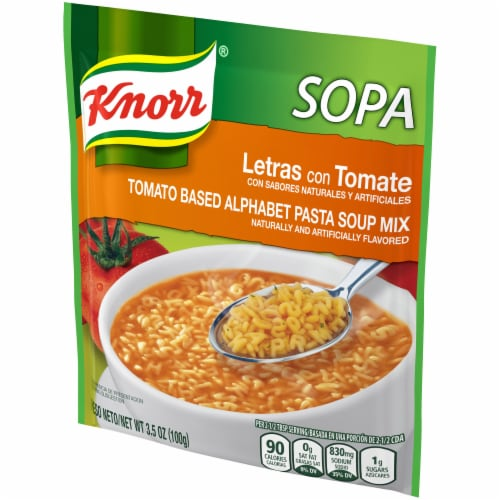 Knorr Tomato Based Alphabet Pasta Soup Mix Perspective: right