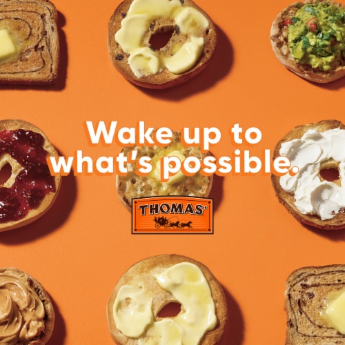Thomas' Everything Bagel Thins Perspective: right