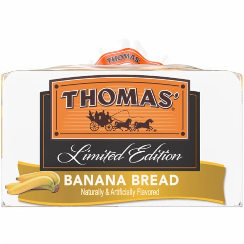 Thomas Banana Bread English Muffins 6 Count Perspective: right