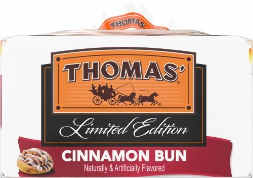 Thomas' Cinnamon Bun English Muffins Perspective: right