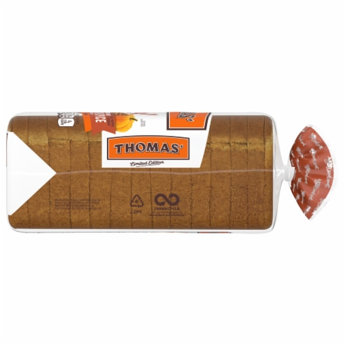 Thomas'® Limited Edition Pumpkin Spice Swirl Bread Perspective: right