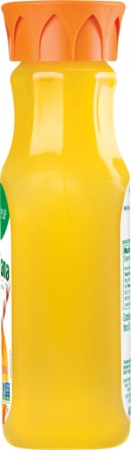 Tropicana Orange Juice Homestyle Some Pulp Bottle Perspective: right