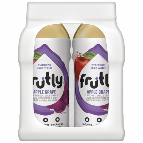 Frutly Apple Grape Hydrating Juice Water Perspective: right