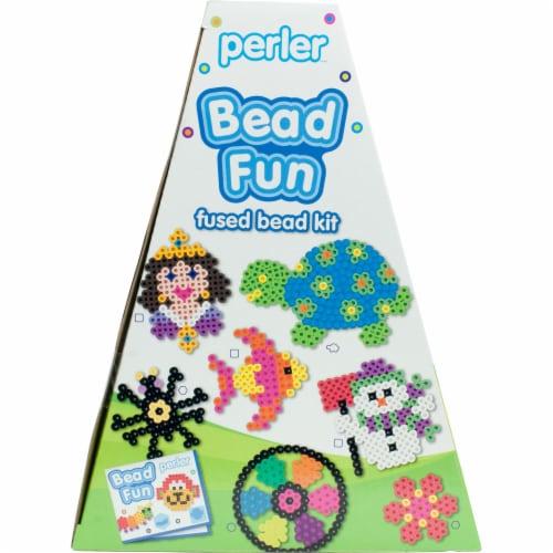 Perler Bead Fun Fused Bead Kit Perspective: right