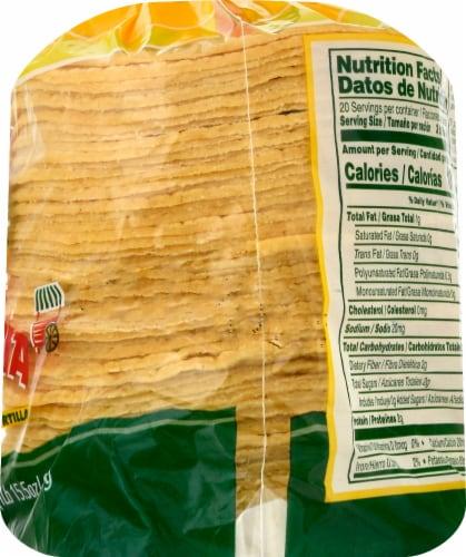 Guerrero Taqueria Style Mini Yellow Corn Tortillas Perspective: right