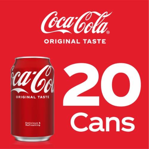 Coca-Cola Soda 20 Cans Perspective: right