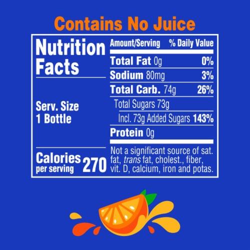Fanta Orange Flavored Soda Perspective: right
