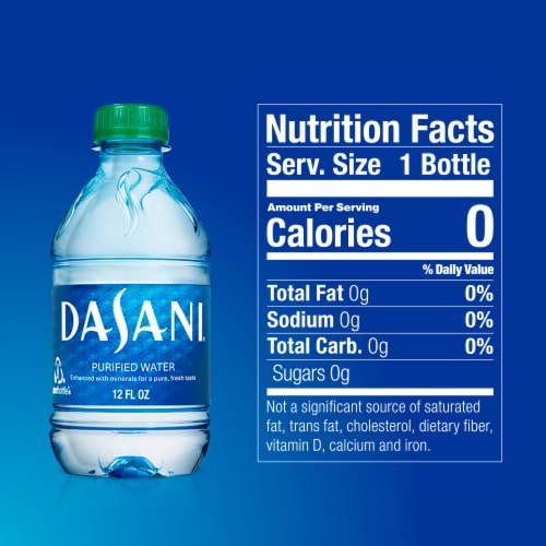 Dasani Purified Water Bottles Perspective: right