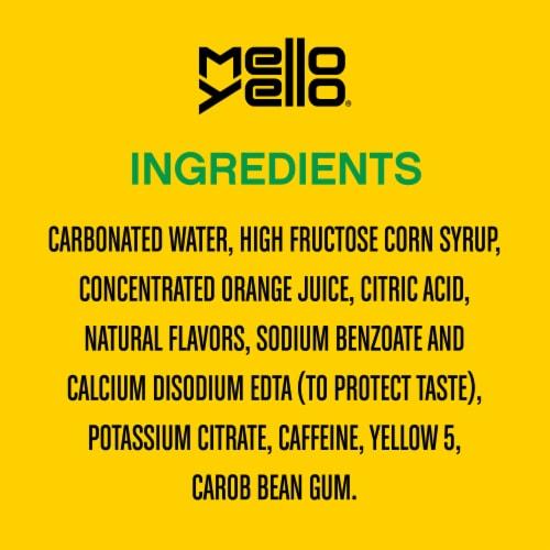 Mello Yello Citrus Flavored Soda Perspective: right
