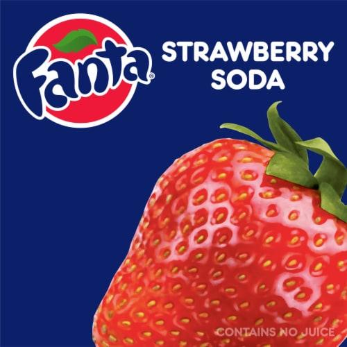 Fanta Strawberry Flavored Soda Perspective: right