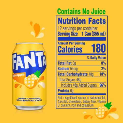 Fanta Pineapple Soda Perspective: right