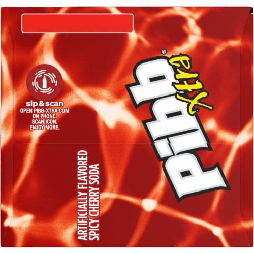 Pibb Xtra Spicy Cherry Soda Perspective: right