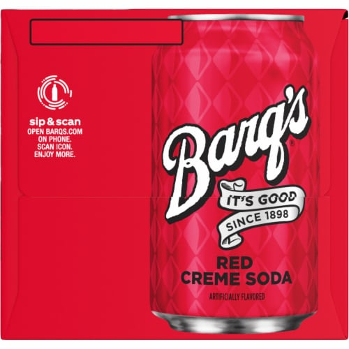 Barq's Red Creme Soda Perspective: right