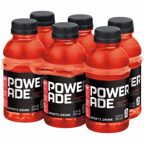 Powerade Fruit Punch Sports Drinks Perspective: right