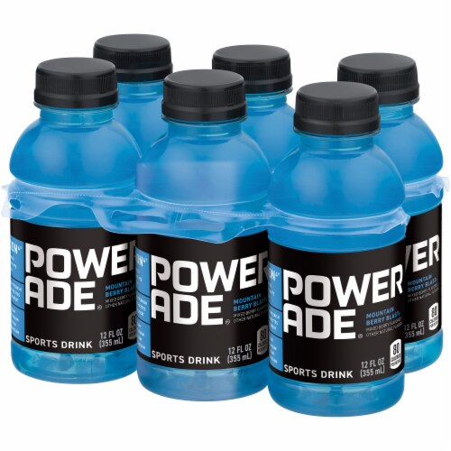 POWERADE® Mountain Berry Blast Sports Drinks Perspective: right