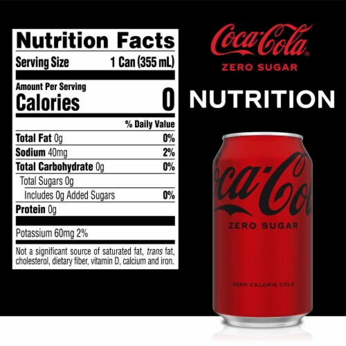 Coca-Cola® Zero Sugar Soda Perspective: right