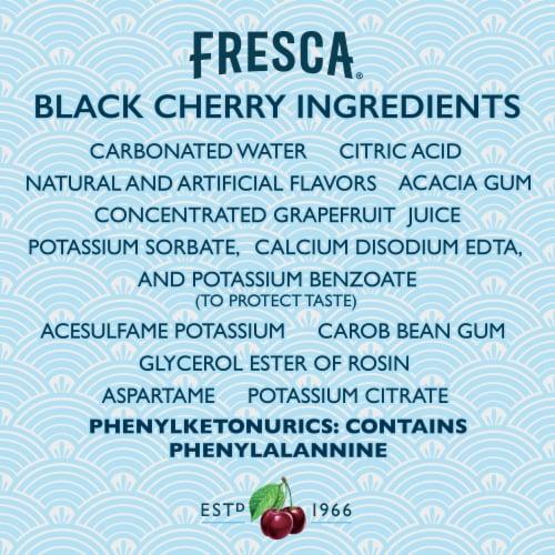 Fresca Black Cherry Citrus Soda Perspective: right