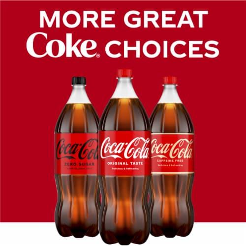 Coca-Cola Caffeine Free Soda Perspective: right
