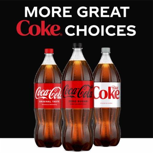Coca-Cola Zero Sugar Soda Perspective: right