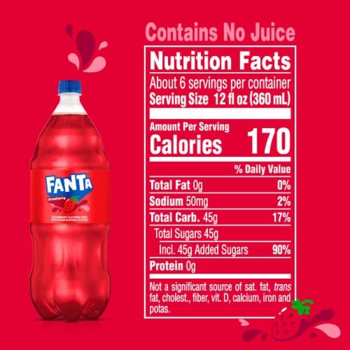 Fanta Strawberry Soda Perspective: right