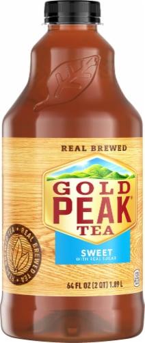 Gold Peak Sweetened Black Tea Perspective: right
