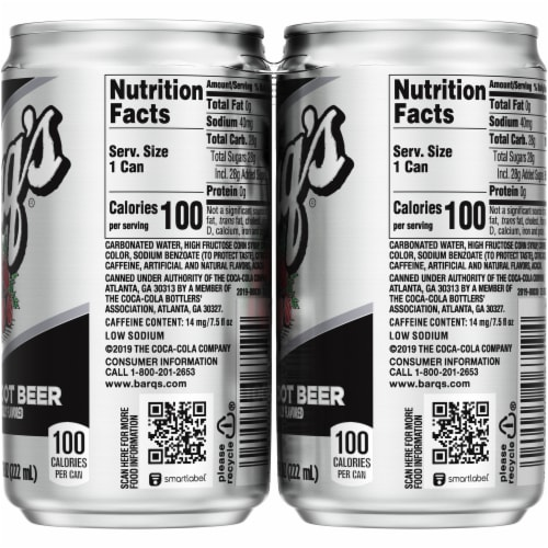 Barq's Root Beer Perspective: right