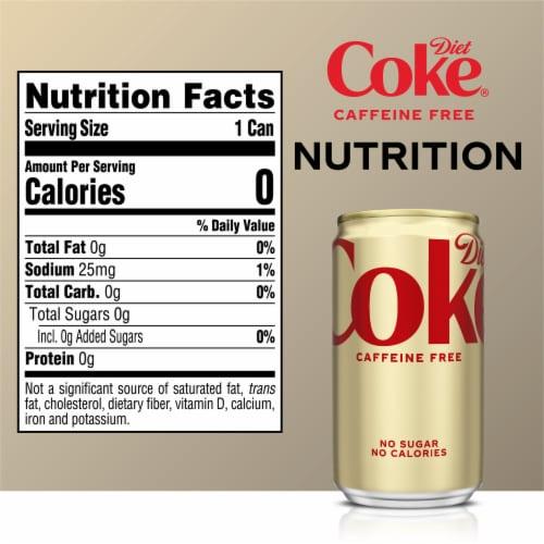 Diet Coke Caffeine Free Soda Perspective: right
