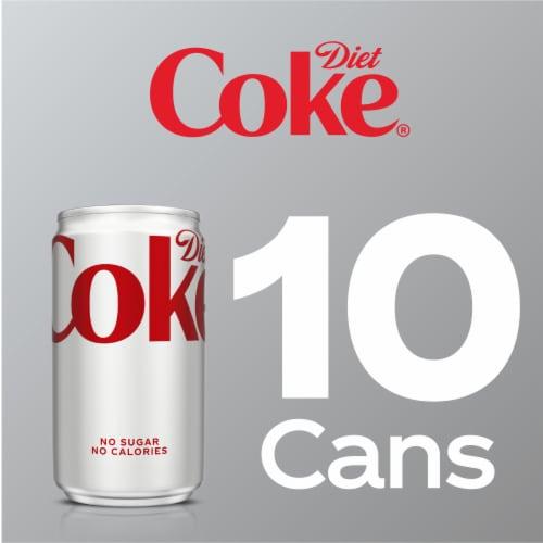 Diet Coke Mini Soda Perspective: right