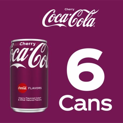 Coca-Cola Cherry Soda Perspective: right