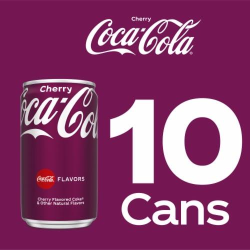 Coca-Cola Mini Cherry Flavored Cola Soda Perspective: right