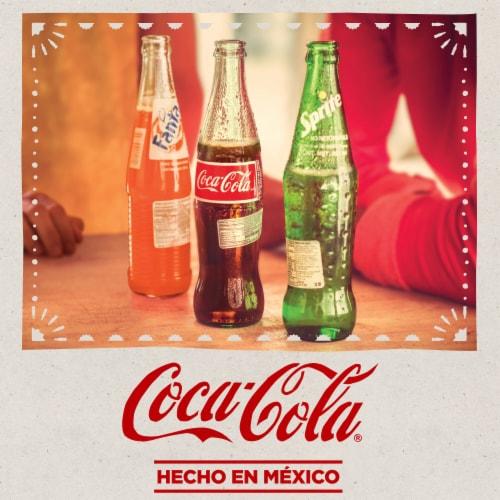 Coca-Cola® Mexican Glass Bottle Soda Perspective: right