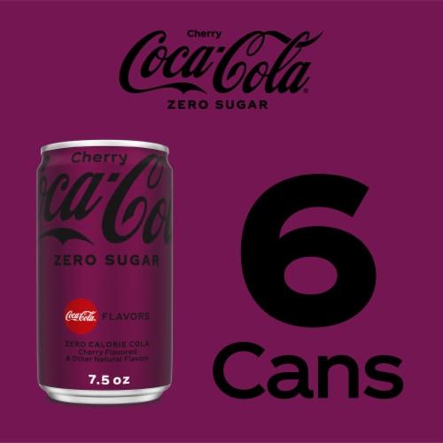 Coca-Cola Zero Sugar Cherry Flavored Cola Perspective: right