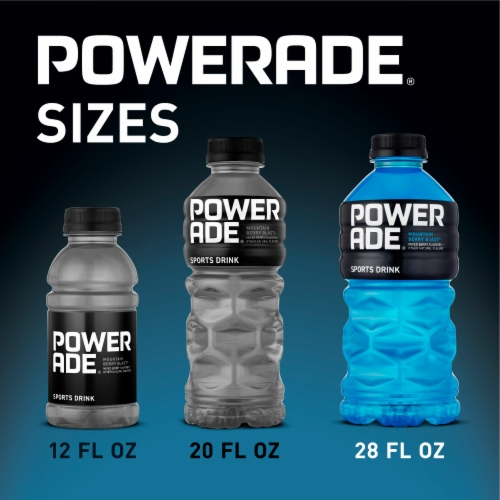 Powerade Mountain Berry Blast Sports Drink Perspective: right